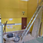 Průběh modernizace salónku